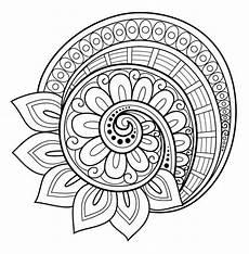 Mandala Malvorlagen Novel Malvorlagen Blumenmandala Black And Whites Coloring Book