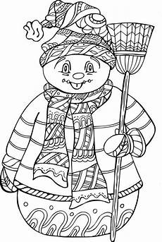 coloring book 30 winter chill coloring pages
