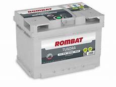 Batterie Voiture Rombat Tundra Eb260 12v 60ah 580a