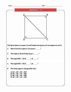 grade 8 common core math worksheets geometry 8 g 5 1 by