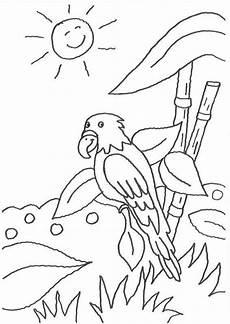 Malvorlage Papagei Einfach Kostenlose Malvorlage V 246 Gel Papagei Und Die Lachende