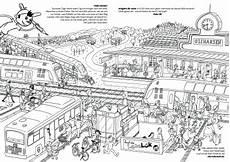 Ausmalbilder Lego Zug Ausmalbild Oli Auf Dem Bahnhof