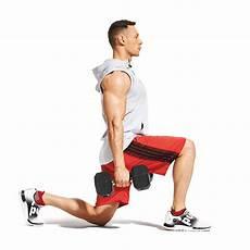 dumbbell walking lunge video watch proper form get tips