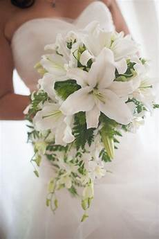 all white wedding flowers with casablanca lilies google search wedding flowers bouquets