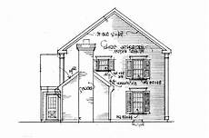 colonial saltbox house plans colonial saltbox plans side elevation pinterest house