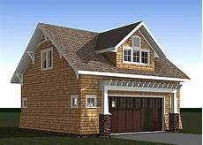 Upstairs Apartment Plans by Craftsman Carriage House Plan With Vaulted Second Floor