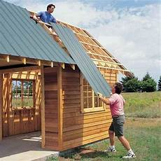 diy pavillon selber bauen shedplans shed building plans