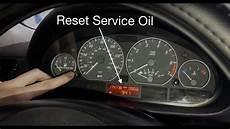 bmw e46 service inspection light reset