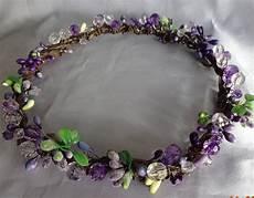 lavender violet hair wreath bridal hair hair wreaths violet hair