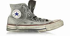converse all high top smoke canvas ltd sneaker in
