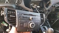 acura tsx 09 14 radio center console and audio removal