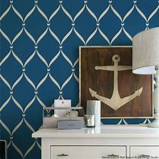 Wand Streichen Muster - ribbon lattice wall stencils for decorating home decor