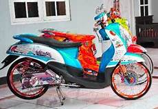 Modif Fino Simple by Variasi Motor Yamaha Fino Modif Simple Modifikasimotorz