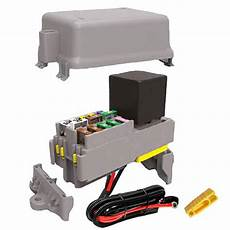 12 volt fuse box and cover 70 maxi relay 10 fuse module kit 12 volt fuses maxi relay bussed fuses kdu010f1r cw