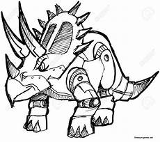 this is robot dinosaur 3 coloring page that on