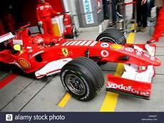Garage Schumacher by German Formula One Pilot Michael Schumacher Of Scuderia