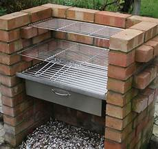 Diy Brick Charcoal Bbq Oven Cupboard Stainless Steel