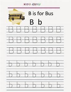 kindergarten worksheets printable tracing worksheet alphabet b b