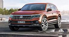 2018 vw touareg rendered with t prime gte features carscoops