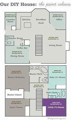 choosing the paint how to pick paint colours for an entire house our diy house the diy