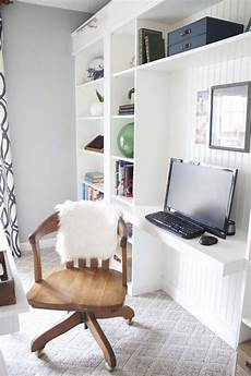 Office Makeover Reveal Ikea Hack Built In Billy
