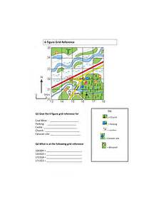 mapping grid reference worksheets 11589 6 figure grid reference worksheet teaching resources