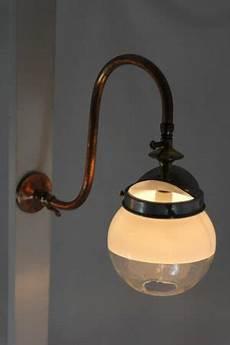 veritas converted miniature gas wall light the light house