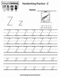 free alphabet handwriting worksheets a to z 21684 kindergarten letter z writing practice worksheet printable 201 cole 알파벳 영어