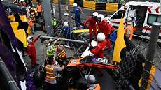 Formula 3 Driver Floersch Survives Crash At