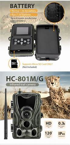 801lte 16mp 1080p Waterproof Smtp by Hc 801g 16mp 3g 1080p Hd Waterproof Sms Smtp 940nm