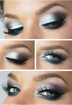 maquillage tuto yeux bleu idee maquillage couleur bleu pour yeux bleu tendance make