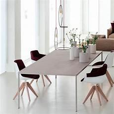 Mdf Italia Robin Esstisch Beton 100x220cm Ambientedirect