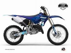 stage 125 prix kit d 233 co moto cross stage yamaha 125 yz bleu light kutvek kit graphik