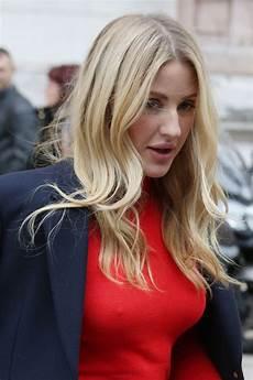 ellie goulding stuttgart ellie goulding turns heads as she pouts around in tight fitting jumper and no bra mirror
