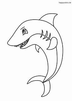 Malvorlage Hai Einfach Hai Malvorlage Kostenlos 187 Haie Ausmalbilder