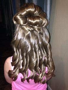 hairstyles for daddy daughter dance little girl s half up half down formal hair daddy daughter dance