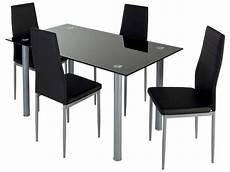 ensemble table et chaise ensemble table 4 chaises featuring coloris noir vente