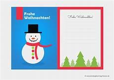 weihnachtskarten vorlagen kostenlos ausdrucken wunderbar