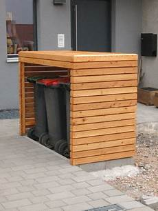 Holzverkleidung Haus Selber Machen - diy fix fertig haus m 252 lltonnenbox m 252 lltonnenhaus