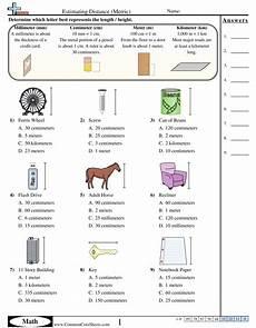 measurement worksheets measurement worksheets worksheets free metric measurements