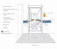 Behindertengerechte Dusche Maße - behindertengerechter fahrstuhl