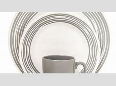 #Corelle Boutique? Brushed 16 Pc Dinnerware Set, Silver