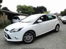 ford focus 1 6 tdci 95 titanium blanc glacier breat auto