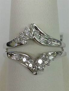 50 best solitaire ring enhancers and wraps images pinterest ring enhancer white gold and