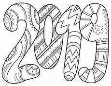 Neujahr Malvorlagen Text Ausmalbilder Frohes Neues Jahr 2020 Ausdrucken
