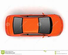 fahrzeug mit planen compact car top view stock illustration illustration