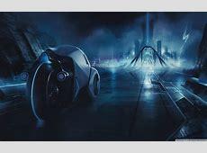 Tron City 4K HD Desktop Wallpaper for 4K Ultra HD TV
