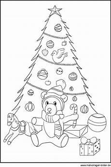weihnachtsbaum ausmalbilder zum ausdrucken