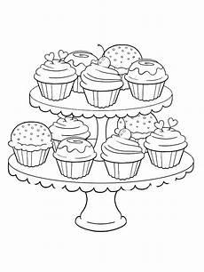 Malvorlagen Mandala Cake Cupcake Malvorlagen F 252 R Kinder Cupcake Ist Ein Kuchen In