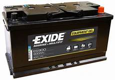 Batterie 80 Ah - batterie exide equipment gel 80ah es900 accastillage